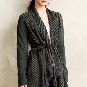 Anthropologie Sweater open Cardigan Elise Size M